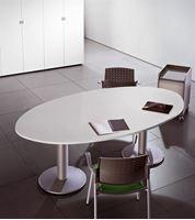 תמונה של שולחן ישיבות אובלי